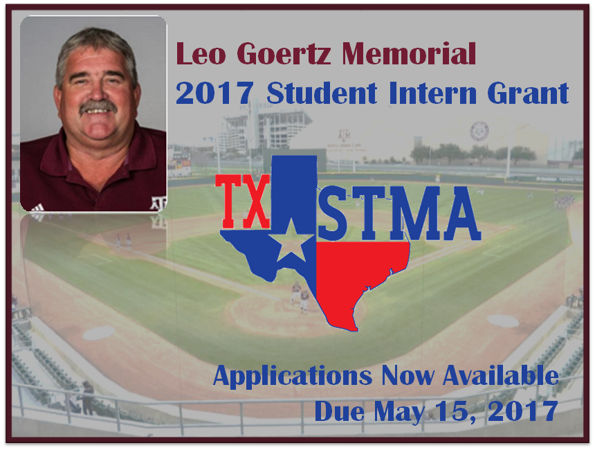 2017 Leo Goertz Memorial Student Intern Grant Applications